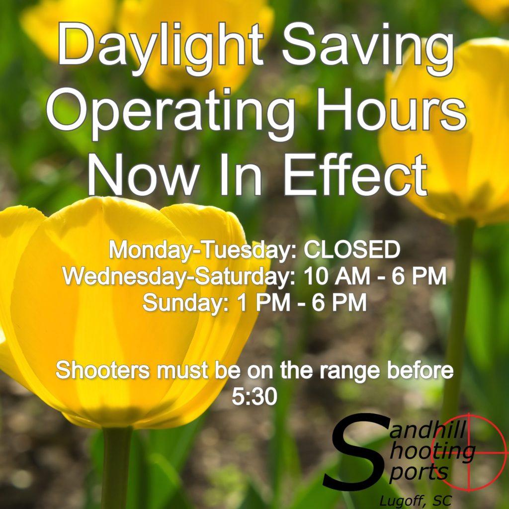 daylight saving hours