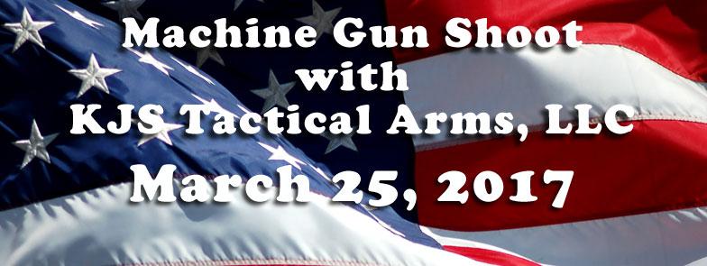 machine gun shoot