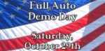 Full Auto Demo Day October 29