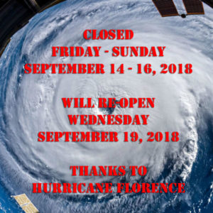 closed hurricane Florence